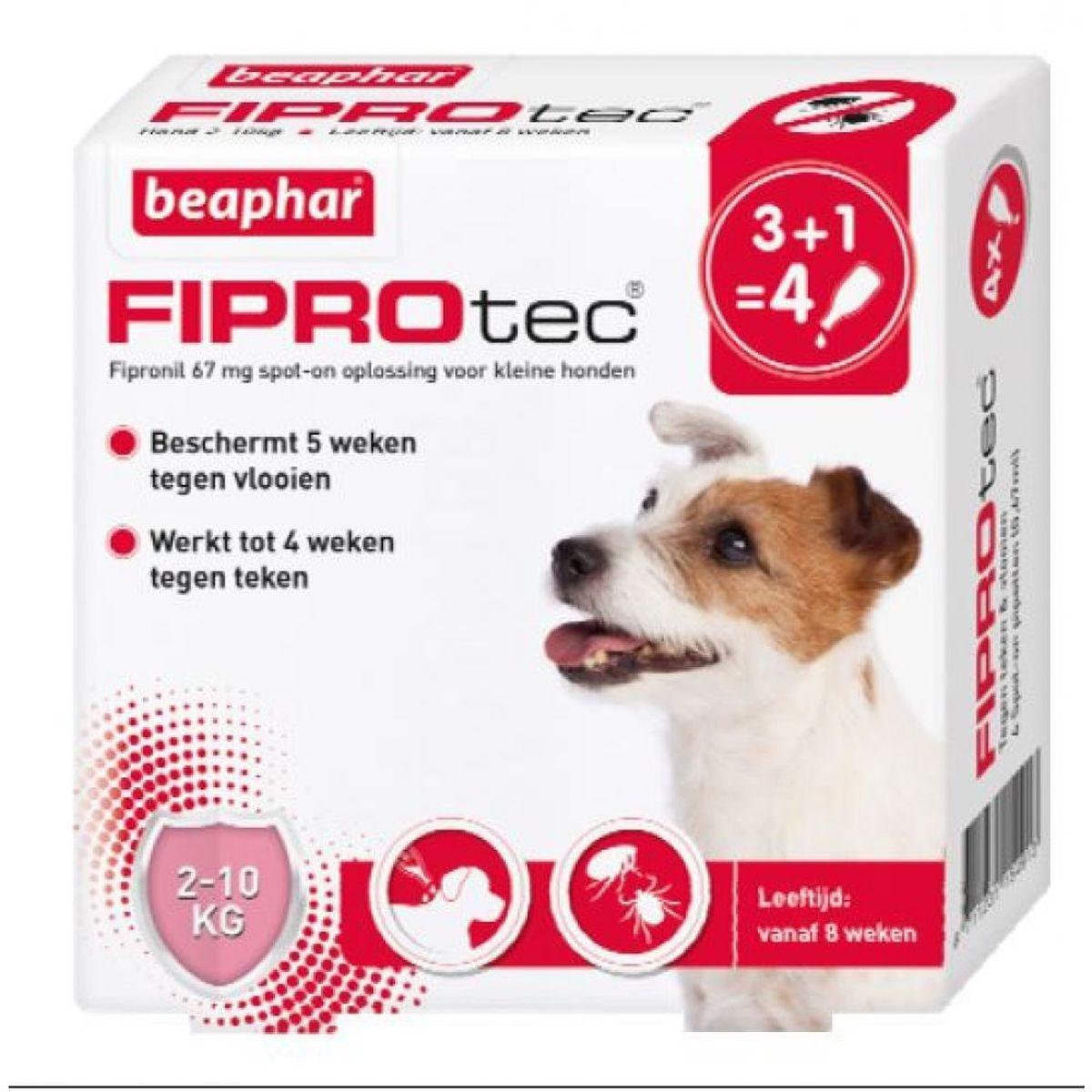 Beaphar BEAPHAR - FIPROTEC 3 PIPET 2-10 KG