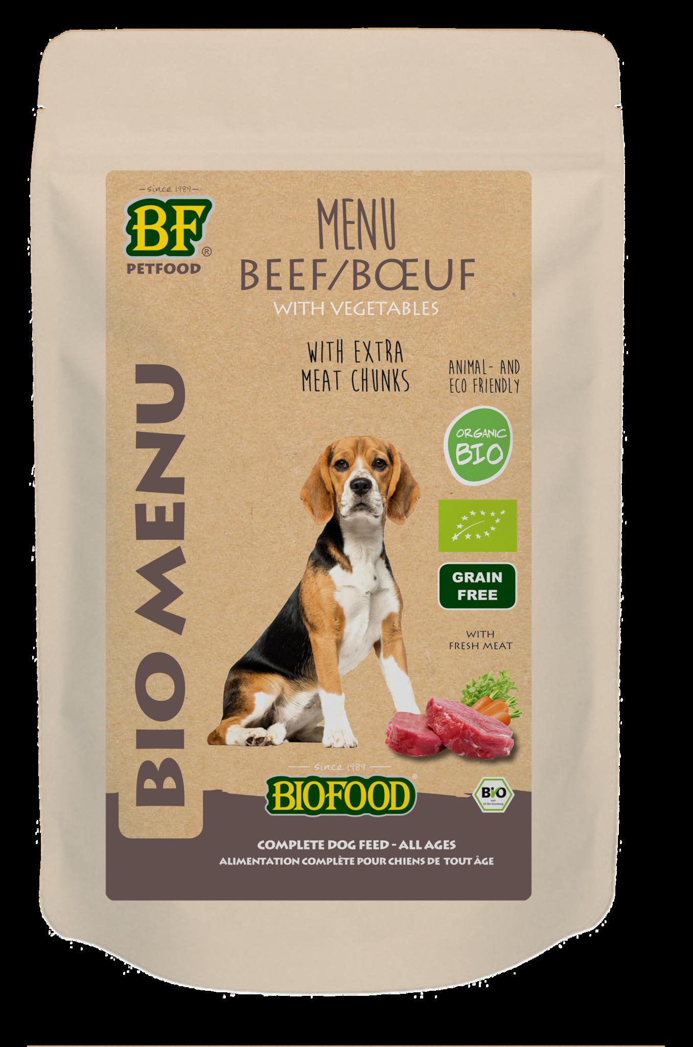 BioFood BIOFOOD - ORGANIC RUND MENU 150GR