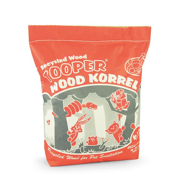 Wooper WOOPER - TOOPER WOOD KORREL BRUIN