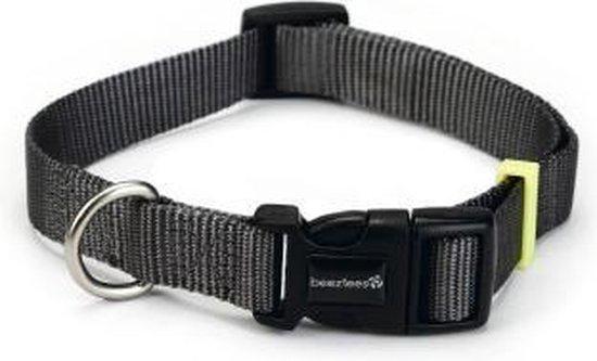 BeezTees BeezTees- Nylon halsband Zwart