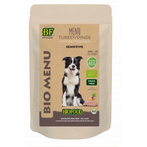 BioFood BIOFOOD - ORGANIC KALKOEN MENU 150GR