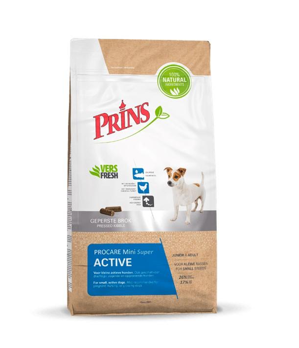 PRINS - PROCARE MINI SUPER ACTIVE 3 KG VLEES ADULT