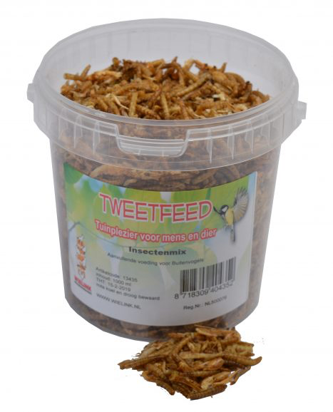 TWEETFEED Insectenmix 1000 ml