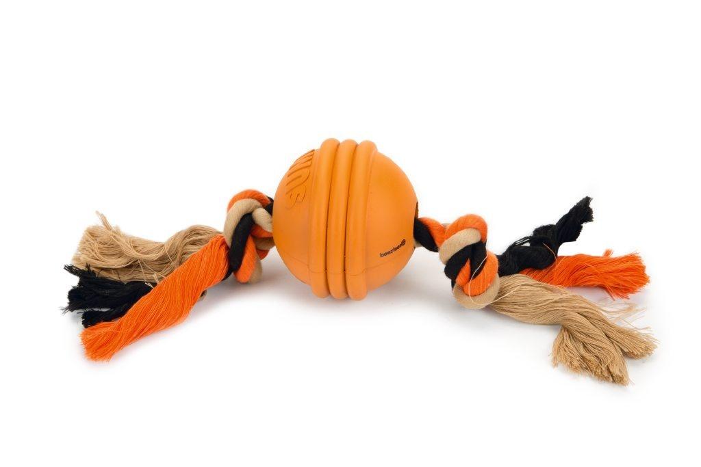 BeezTees BeesTees- Sumo Fit Ball Oranje 31.8 x 7.9 x 7.9 cm