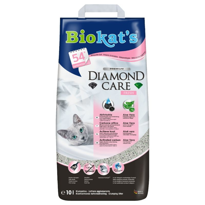 BIOKAT'S - DIAMOND CARE CLASSIC FRESH 8 LTR