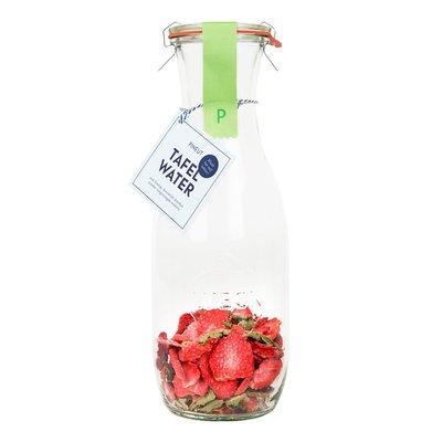 Pineut Tafelwater aardbei, verveine