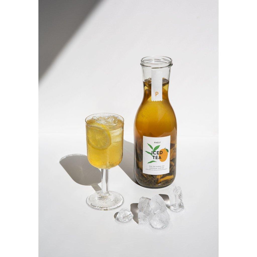 Pineut Gedroogd fruit voor cold brew ice tea