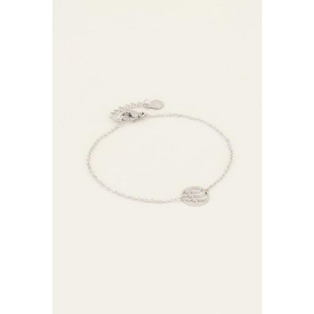 My Jewellery Armband golfje zilver