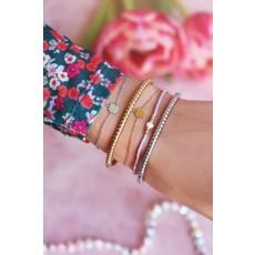 My Jewellery Armband klavertje goud