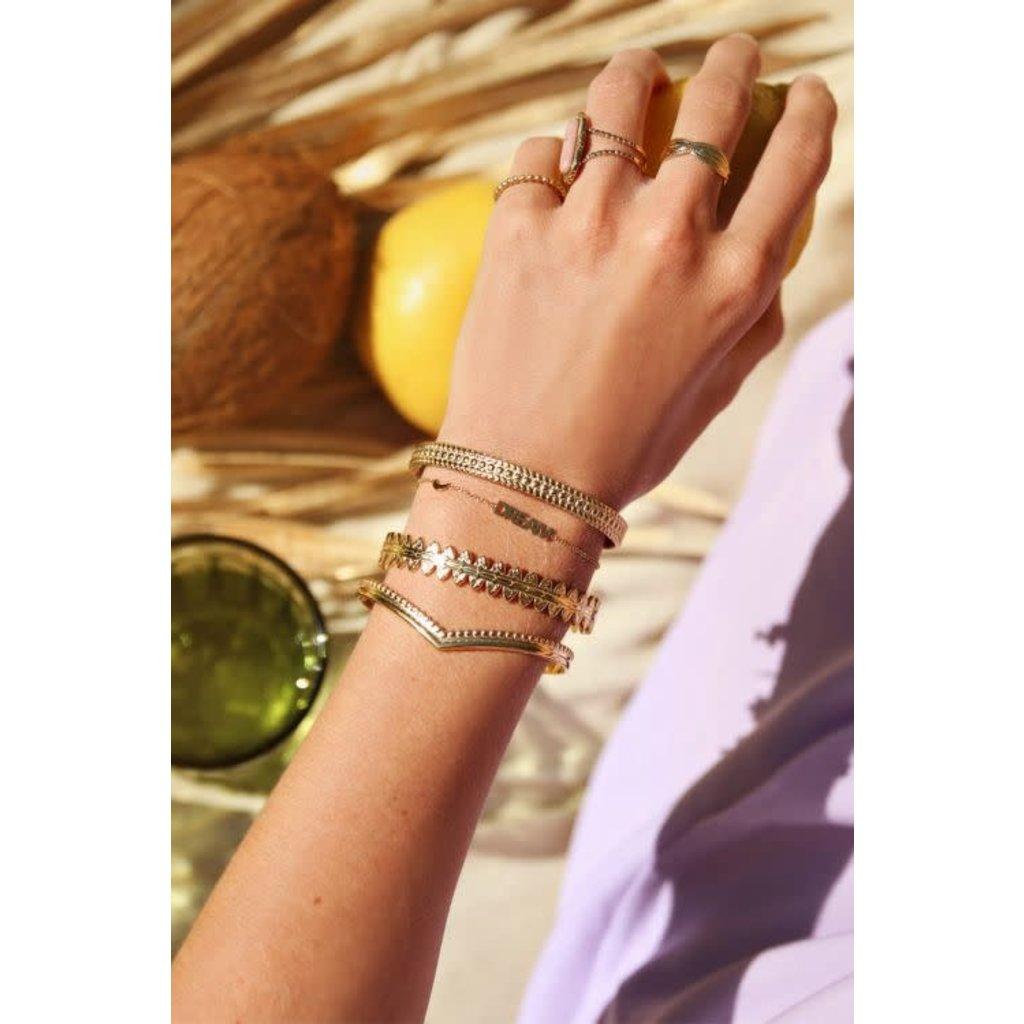 My Jewellery Armband met dream en maantje goud