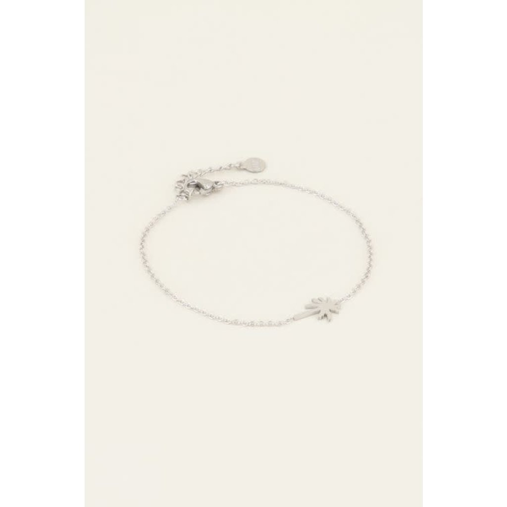 My Jewellery Armband palmboom zilver