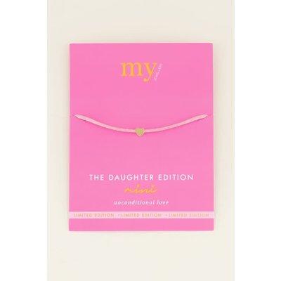 My Jewellery Dochter armband mini los goud