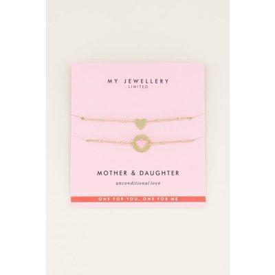 My Jewellery Mother & Daughter Bracelet goud