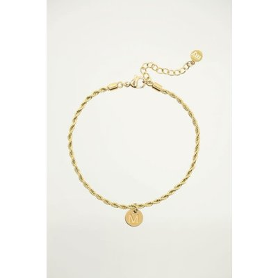 My Jewellery Vintage Initial Bracelet Letter A