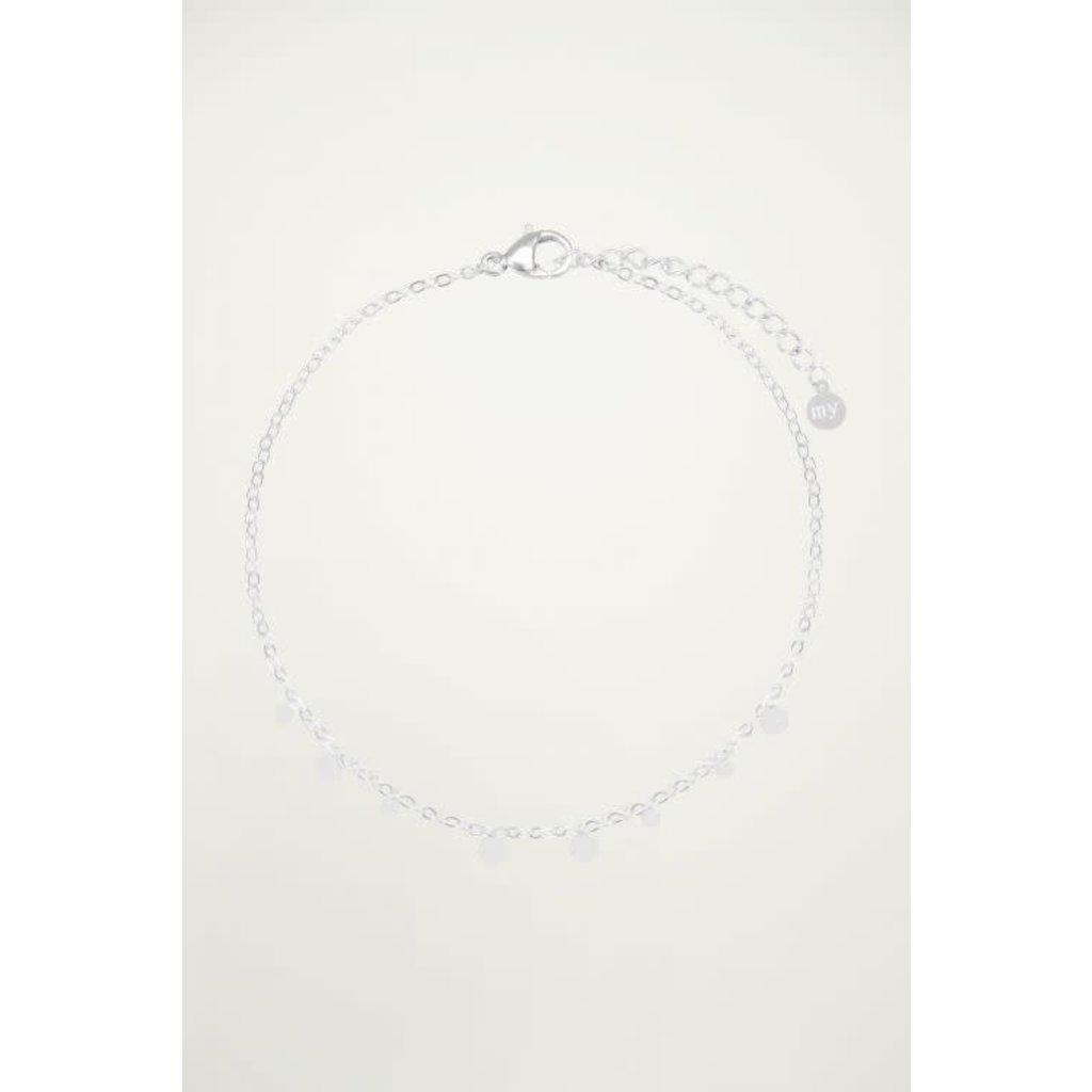My Jewellery Armband Rondjes zilver