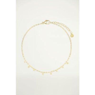 My Jewellery Armband Sterretjes goud