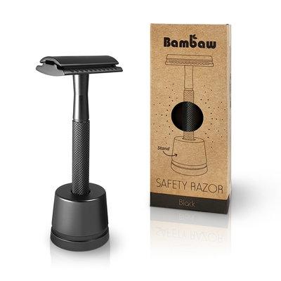 Bambaw Safety razor metaal black