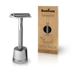 Bambaw Safety razor metaal zilver