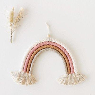 Coocoomade Handgemaakte regenboog Dusty Pink