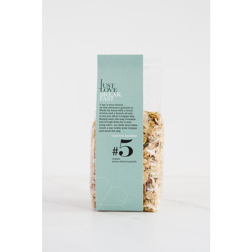 I just love breakfast #5 Pecan/Amandel granola 250gr