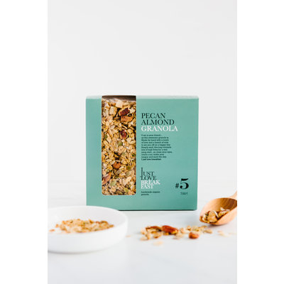 I just love breakfast #5 Pecan/Amandel granola fans 700gr