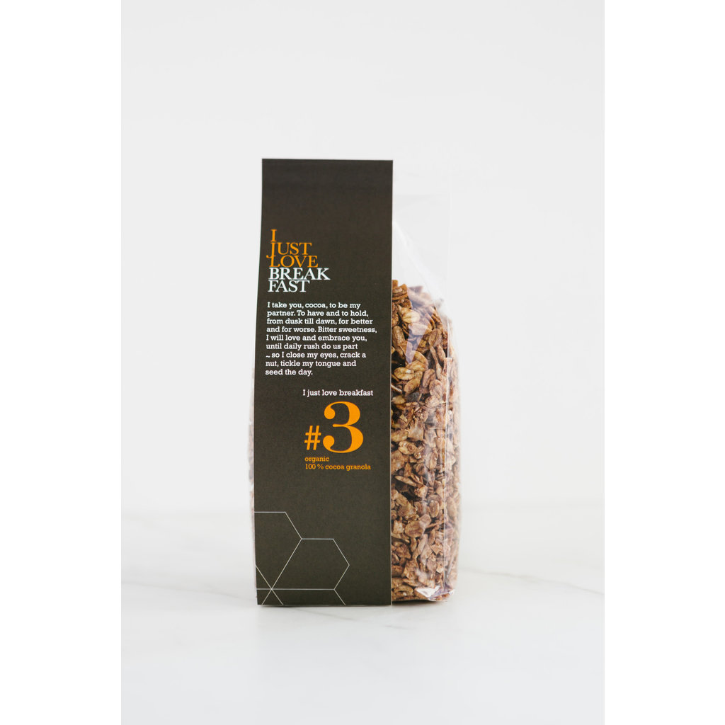 I just love breakfast #3 cacao 100%  granola 250gr