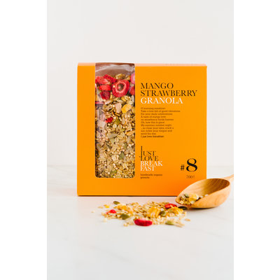 I just love breakfast #8 aardbei/mango  granola fans 700gr