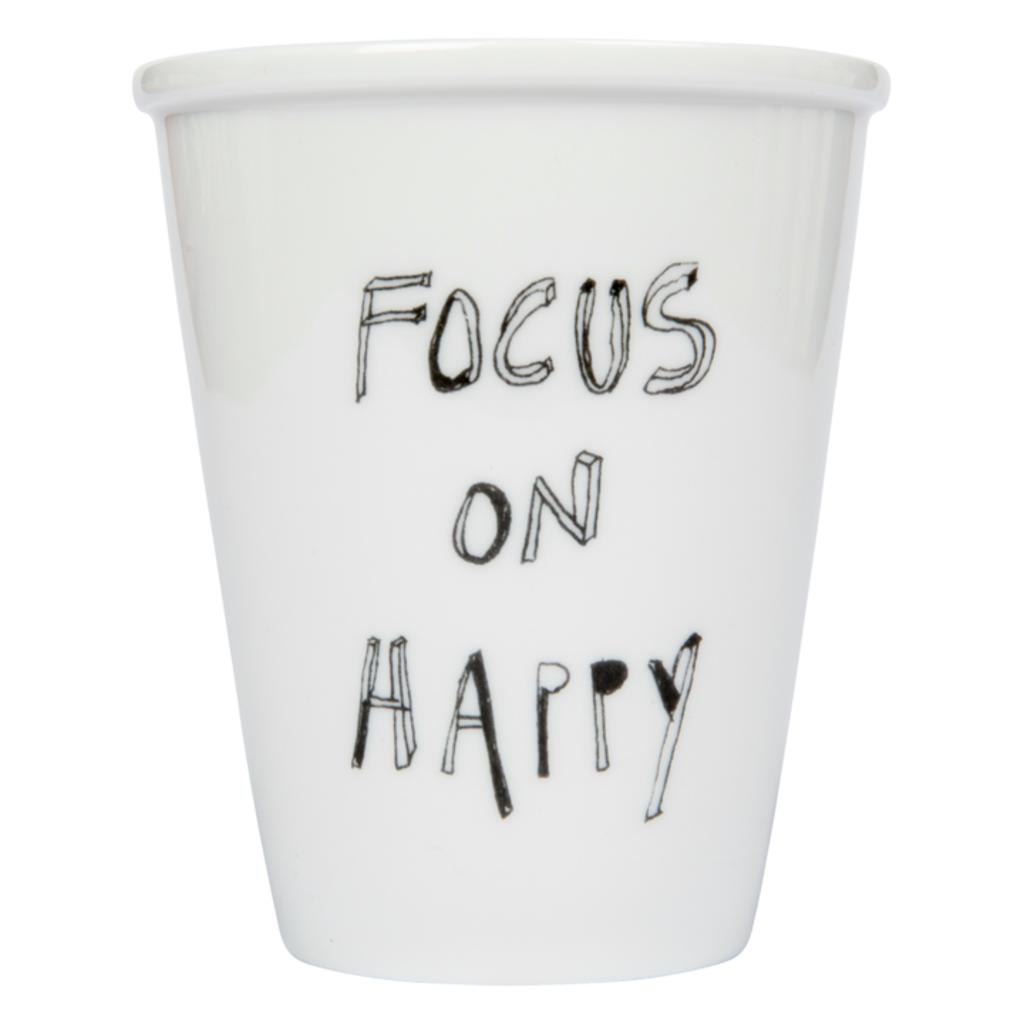 HelenB Beker | Focus on happy