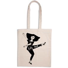 """HelenB Tote Bag """"GRL PWR"""""""