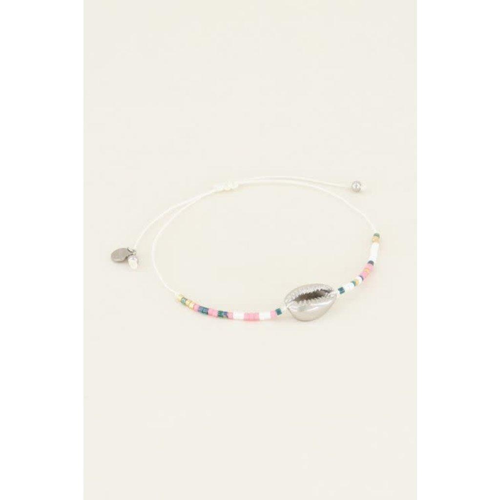 My Jewellery Armbandje met schelp kraaltjes