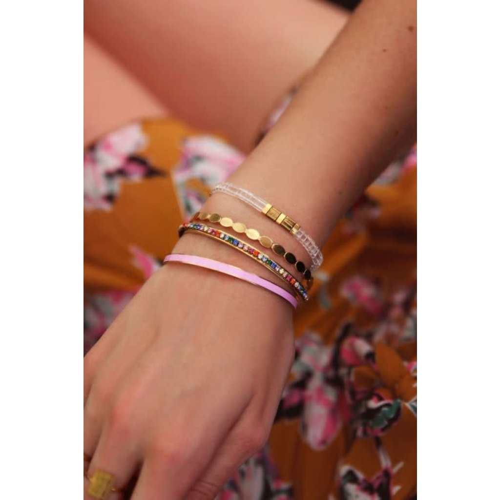 My Jewellery Bangle ovaaltjes goud