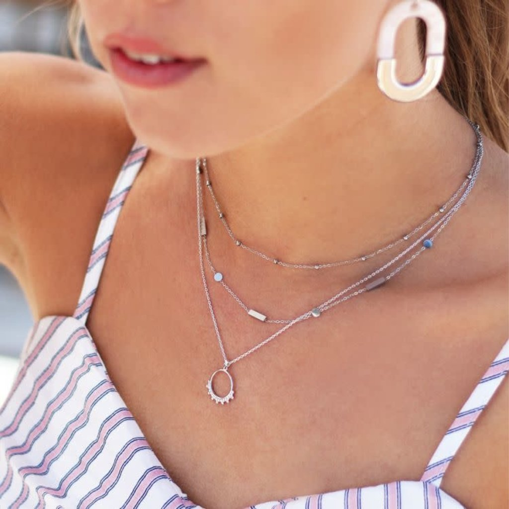 My Jewellery Double Tiny Necklace Zilver