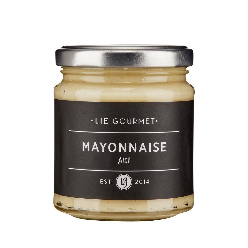 Lie Gourmet Romige mayonaise met knoflooksmaak