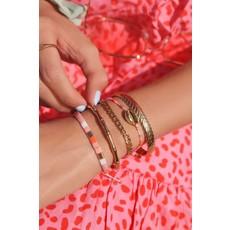 My Jewellery Armbandje met gouden schelp