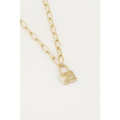My Jewellery Ketting met slot L'amour
