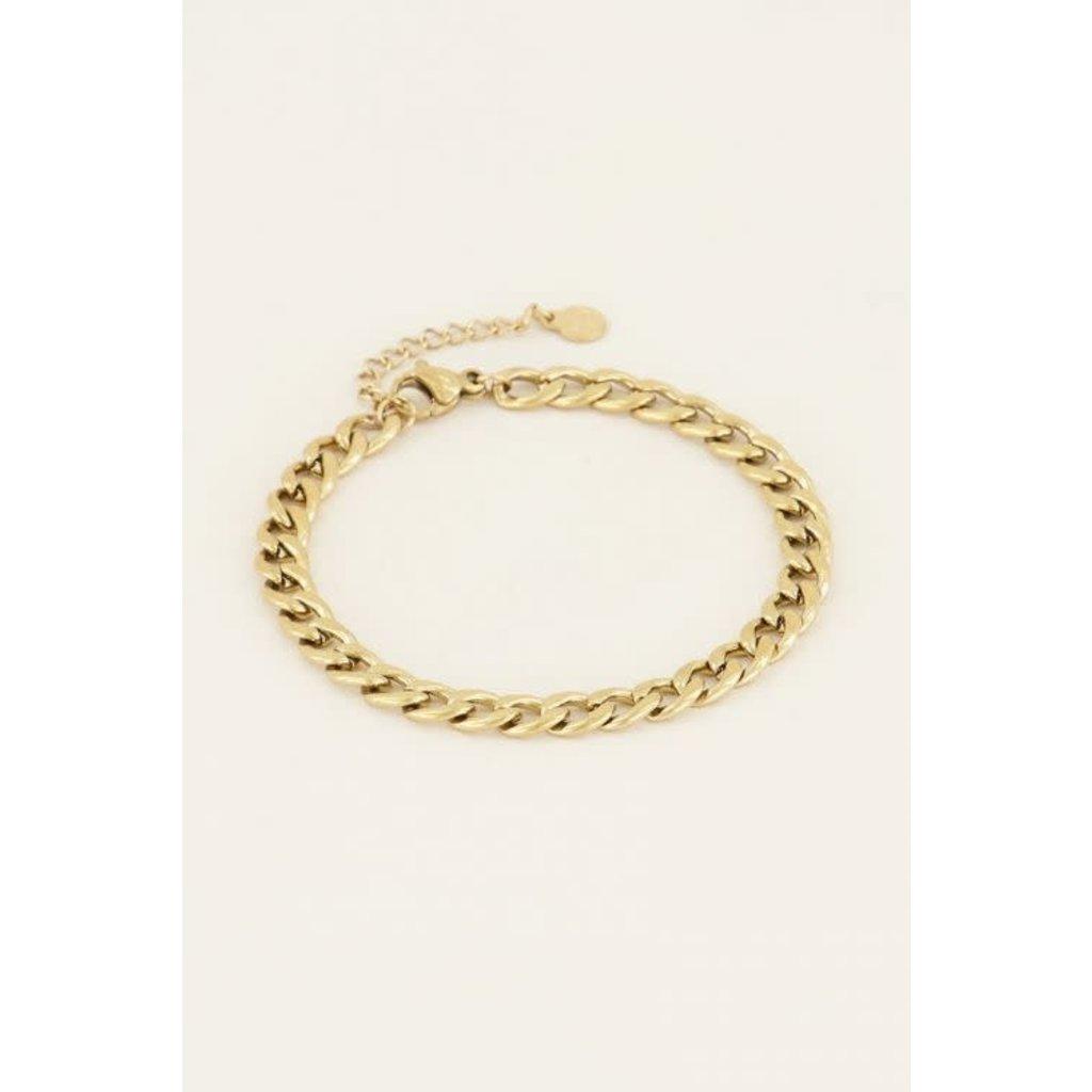 My Jewellery Armbandje schakels goud