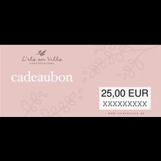 Cadeaubon online 25