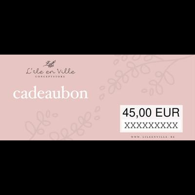 Cadeaubon online 125