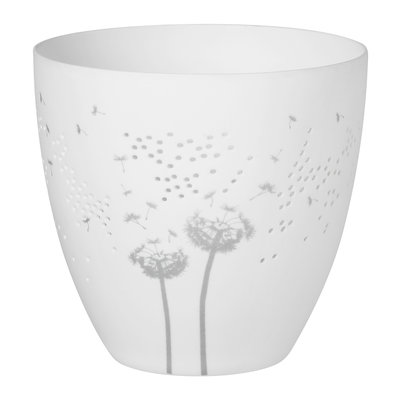 Rader Theelicht bloemen zilver