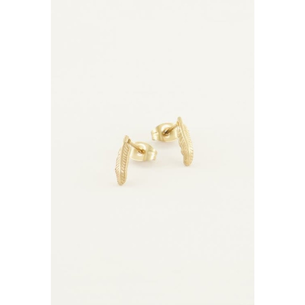 My Jewellery Studs veertje goud
