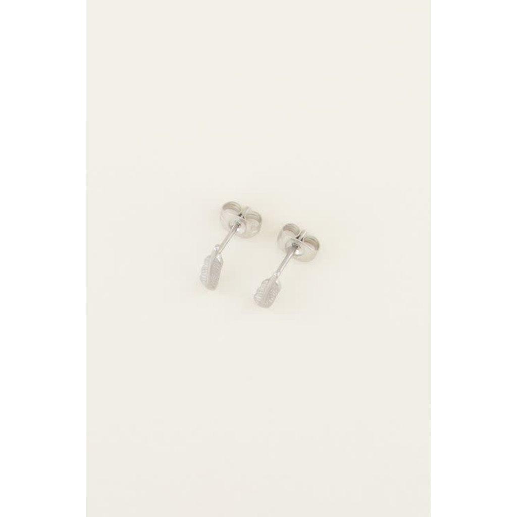 My Jewellery Studs veertje zilver