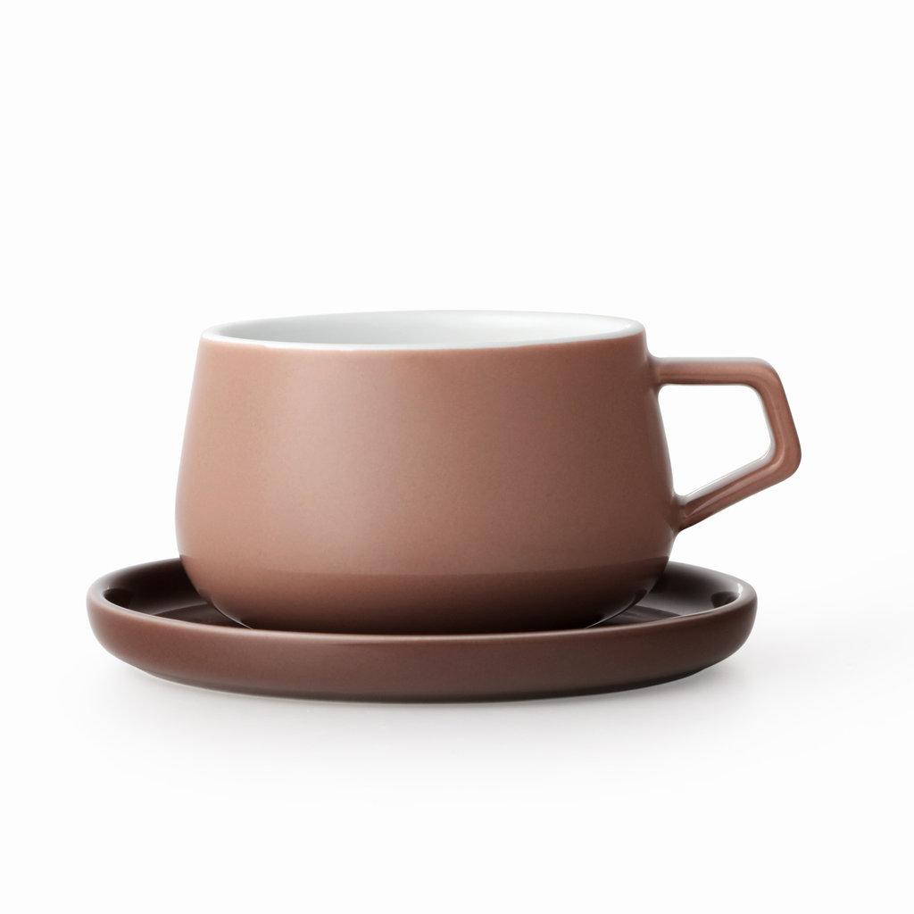 Viva Ella™ tea mug roosbruin