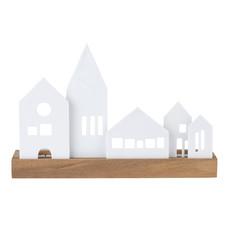 "Rader Lichtplankje ""dorp"" 25x7x16,5cm"