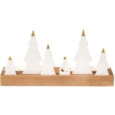 "Rader Rader Lichtplankje ""kerst"""