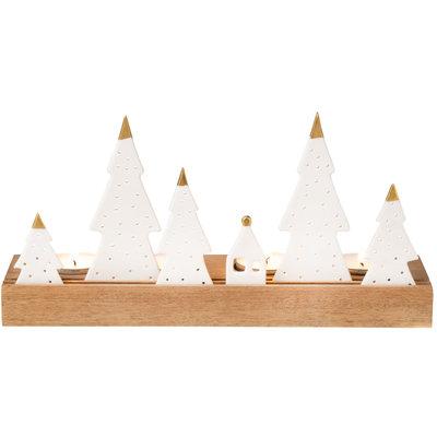"""Rader Lichtplankje """"kerst"""""""