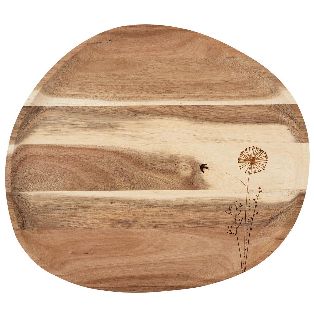 Rader Plateau hout Wonderland Bloemen
