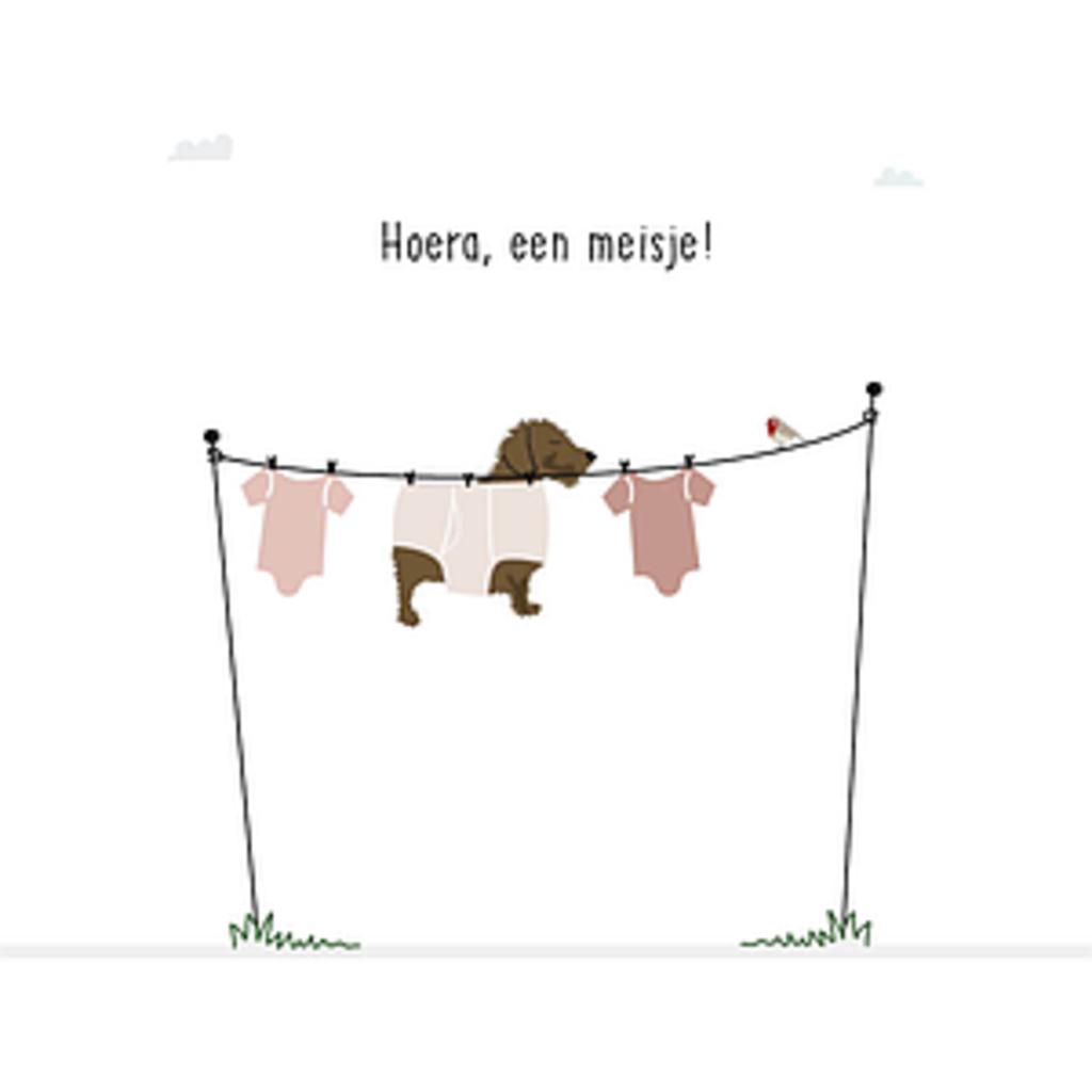 Frits Hoera, een meisje!