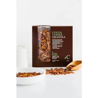 I just love breakfast #C Cacao Koffie  granola fans 700gr