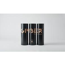 Gimber Koker Gimber 500ml + Gimber Branded glas
