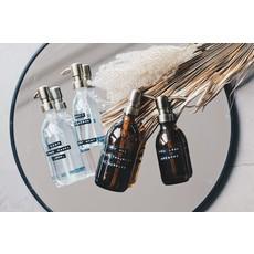 Wellmark Handzeep bruin glas/messing - wash your hands... mum 500 ml